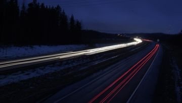 liikenne talvi joulu