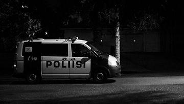 Poliisi Kaisaniemi puisto