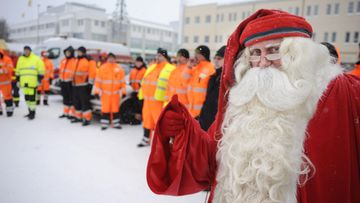 Operaatio Lumihiutale, Autoliitto, joulupukki