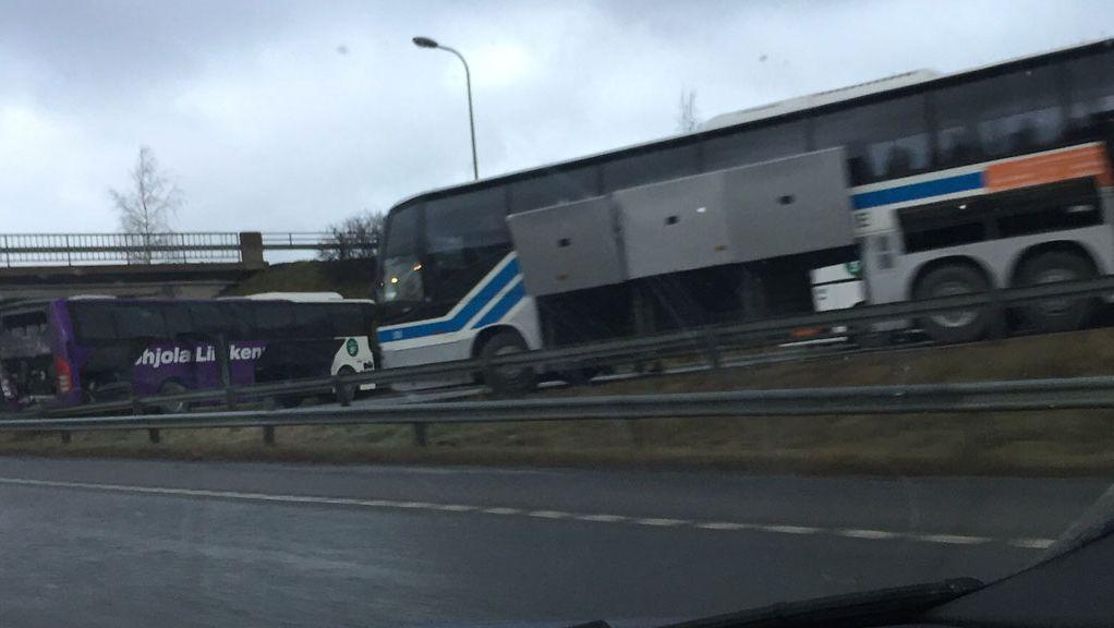 Liikenneonnettomuudet Tänään