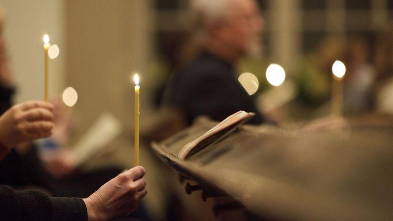 joululaulut, kirkko