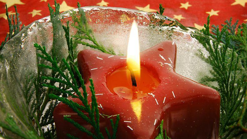 kynttilä, joulu, yksinäisyys