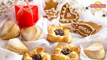 Leivontanurkka joululeivonnainen