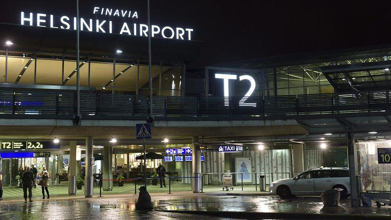 Finavia lentokenttä lentokone
