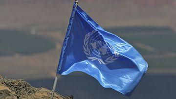 YK:n rauhanturvaaja. Kuvituskuva.