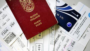 passi, lentoliput