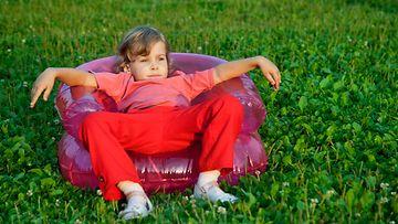 puhallettava sohva