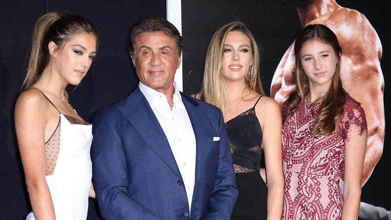 Sylvester Stallone ja tyttäret