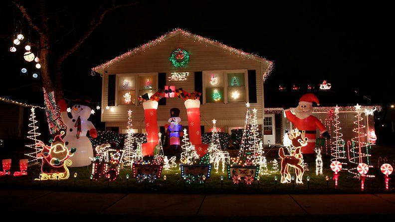 jouluvalo jouluvalot amerikka yhdysvallat usa joulu