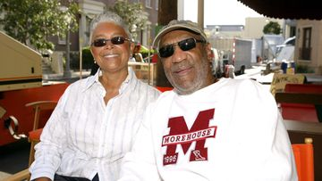 Camille Cosby ja Bill Cosby vuonna 2004