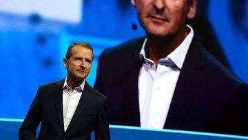 Volkswagenin Herbert Diess CES-tapahtumassa Las Vegasissa