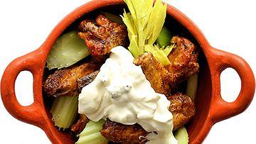 Chicken wings resepti uunissa