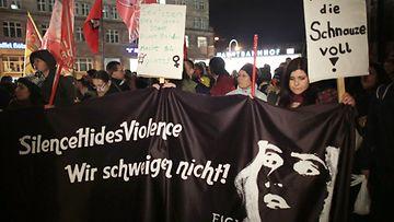 Köln seksuaalinen häirintä mielenosoitus