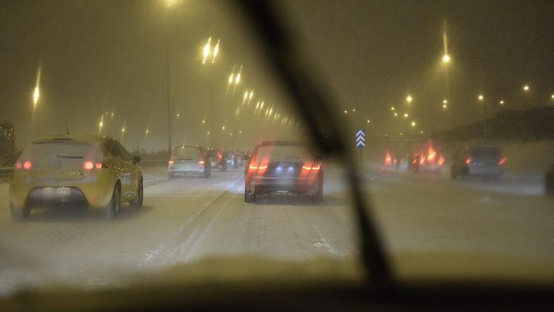lumisade ja liikenne