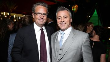 Matthew Perry ja Matt LeBlanc, 2015