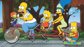Simpsons_TandemBikePoster_R1