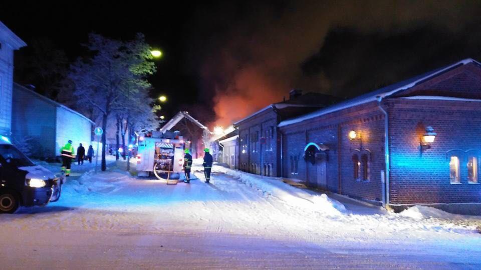 Uusikaupunki Tulipalo