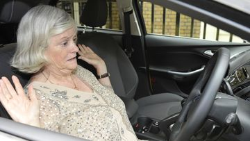 64747for-Ann Widdecombe Testing Active Park Assist