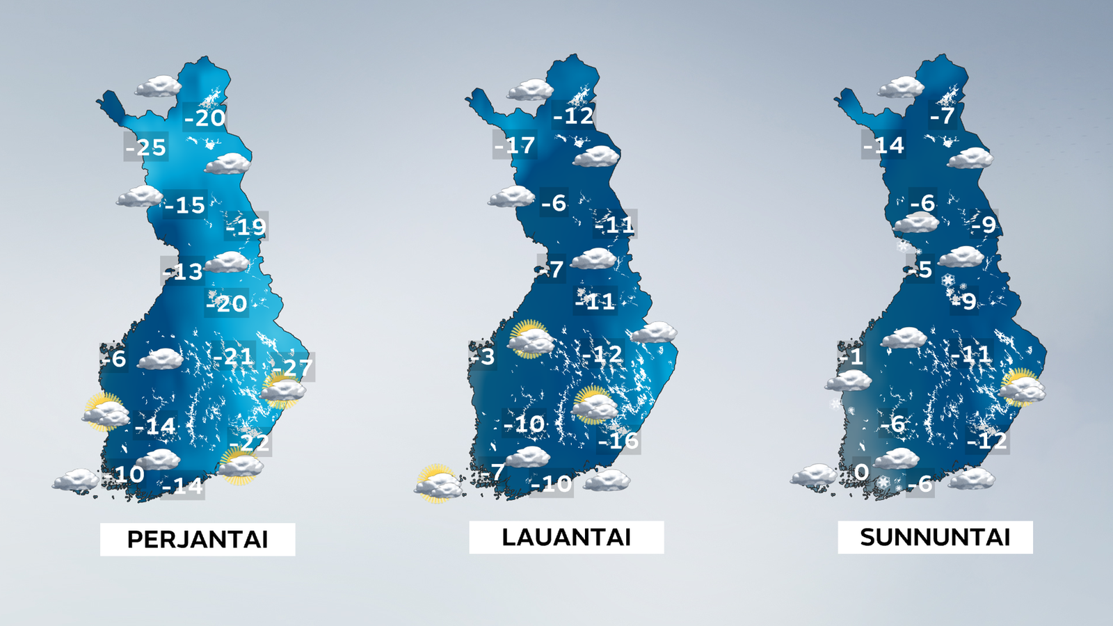 Sää lauhtuu rajusti viikonloppuna: Lämpötila kohoaa 10-30 astetta - Kotimaa - Uutiset - MTV.fi