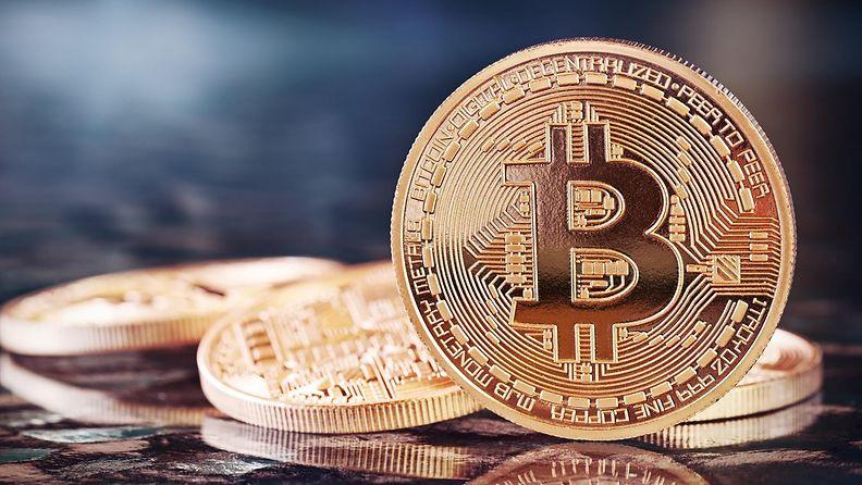 Bitcoin-kuvituskuvaa.