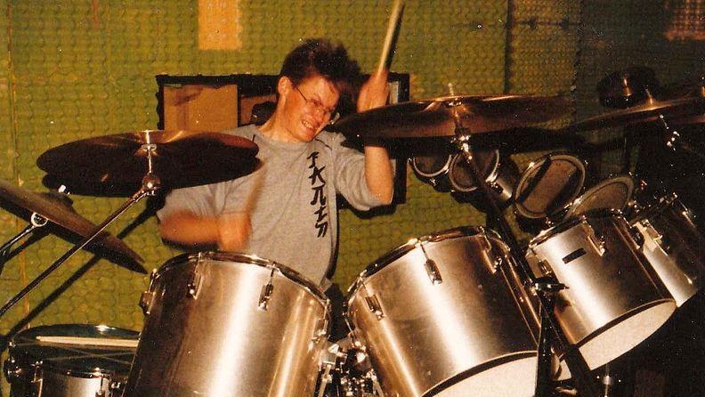 Abban rumpalin rummut. Fagersta,Ruotsi 1983.