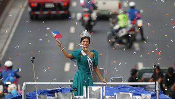 Pia Alonso Wurtzbach 25.1.2016 Manilassa 3