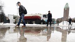 Etel�n ja l�nnen lumet vaarassa ensi viikolla – oliko talvi t�ss�?
