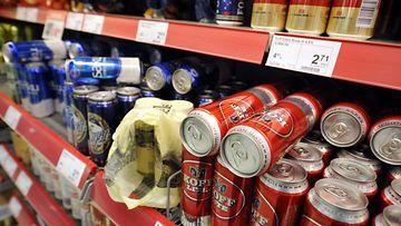 Olut alkoholi kauppa marketti market