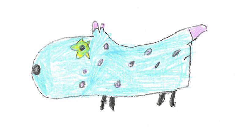 Miron suunnittelema Täpy-koira