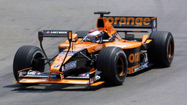 Arrows, 2001, A22, siipi, Monaco (1)