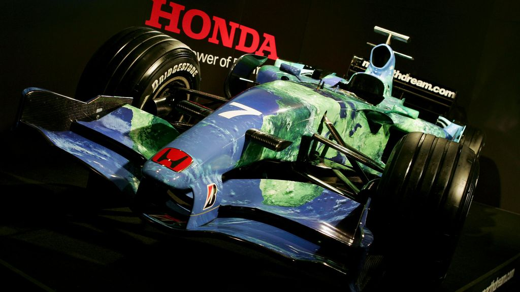 Honda, F1, Earth Car, 2007, RA107