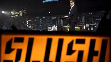 Slush avajaiset Juha Sipilä