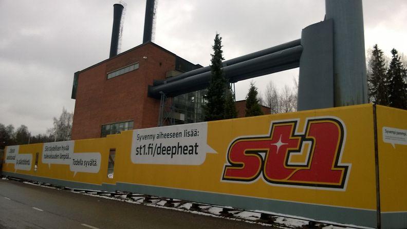 St1, geoterminen, energia, Espoo
