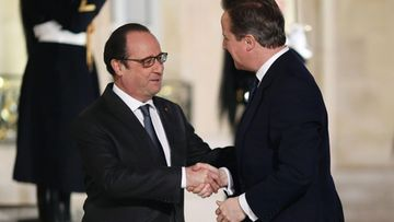 Hollande ja Cameron