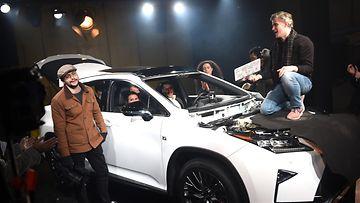 Lexus: Kuvauspaikka