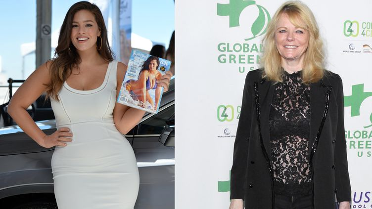 Ashley Graham ja Cheryl Tiegs