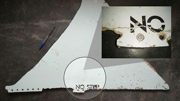 MH370 koneen osa mysteerikone Mosambik