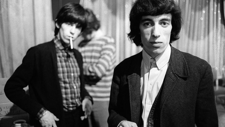 Bill Wyman ja Keith Richards 1960-luvulla