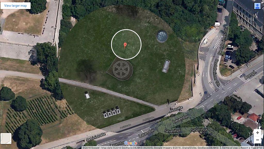 Saksalaislehti Satelliittikuva Paljasti Valtavan Hakaristikuvion