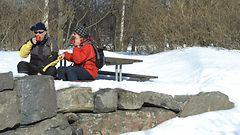 Talvi palaa koko maahan – loppuviikoksi luvassa hienoja ulkoilukelejä