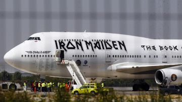 iron maiden ed force one lentokone (1)