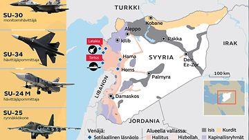 Syyria Kartta