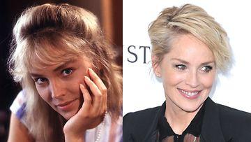 Sharon Stone 1984 ja 2015