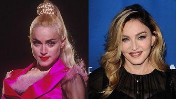 Madonna 1990 ja 2016