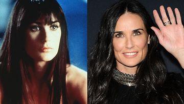 Demi Moore 1996 ja 2016