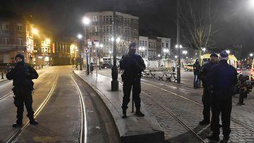 Belgian poliisi poliisioperaatio