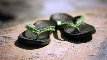 kesäkengät sandaalit kuvituskuva kesäsandaalit