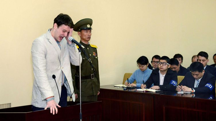 Otto Warmbier 2016