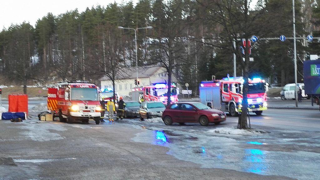 Onnettomuus Lahti