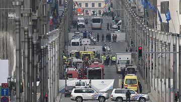Bryssel, metro, isku